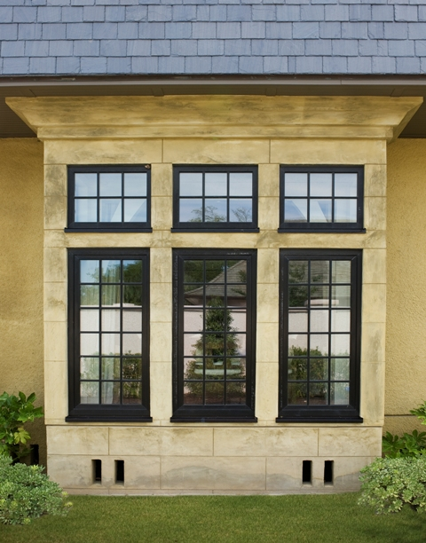Maintenance Free Windows with Mullions