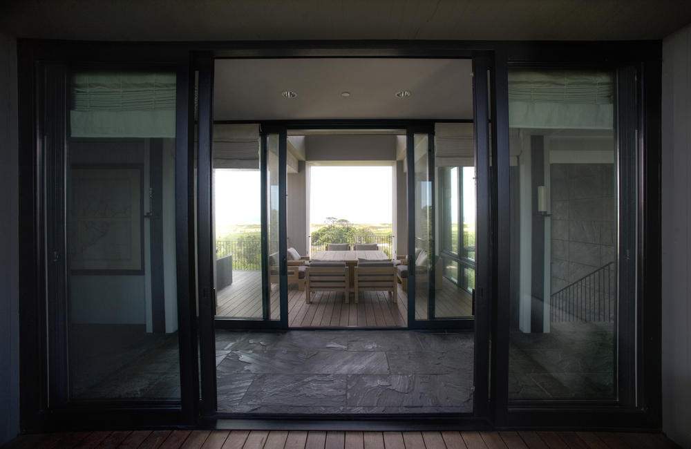 Mahogany French Lift and Slide Doors