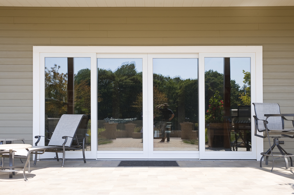 French Lift and Slide Doors with Aluminum Cladding
