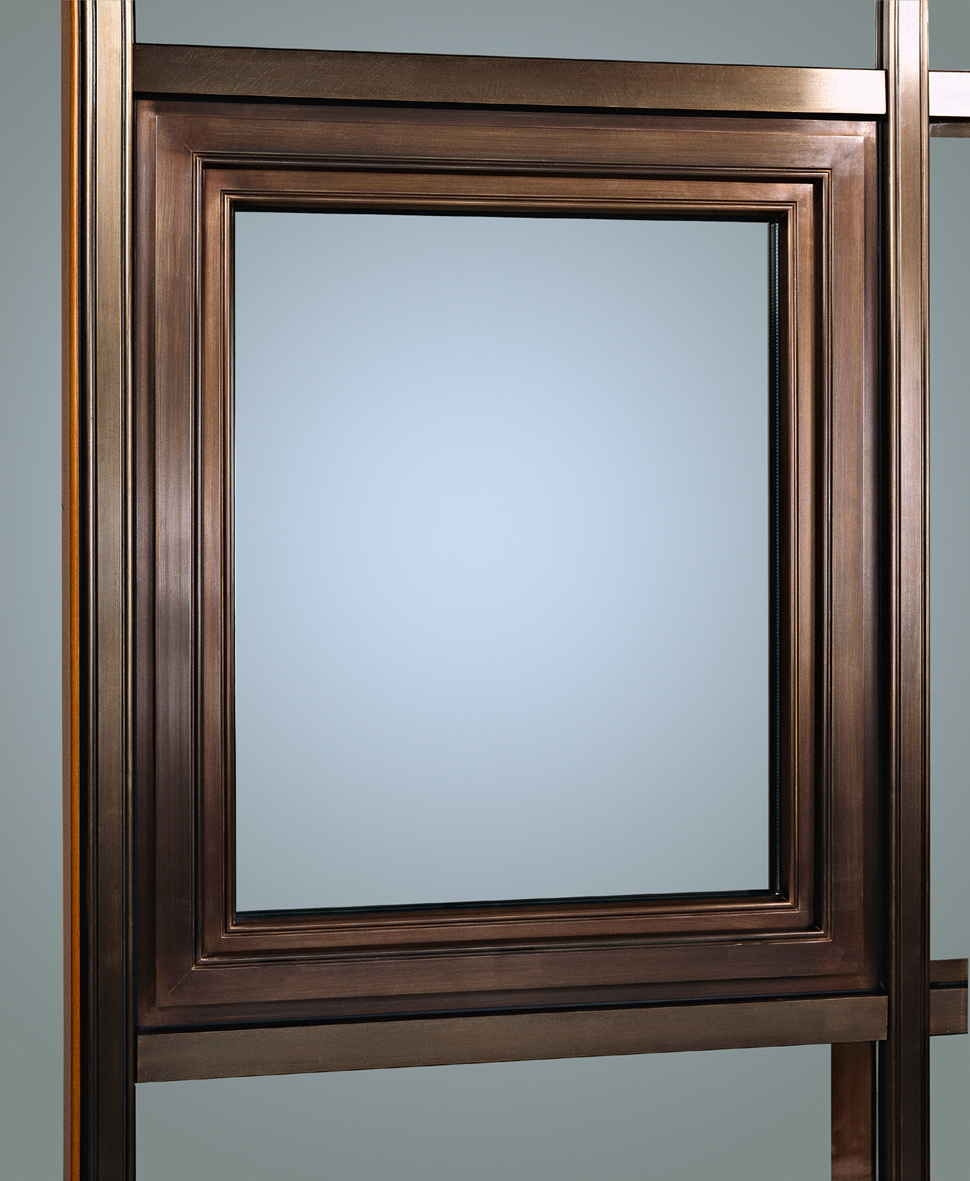 Bronze Clad Mahogany Window