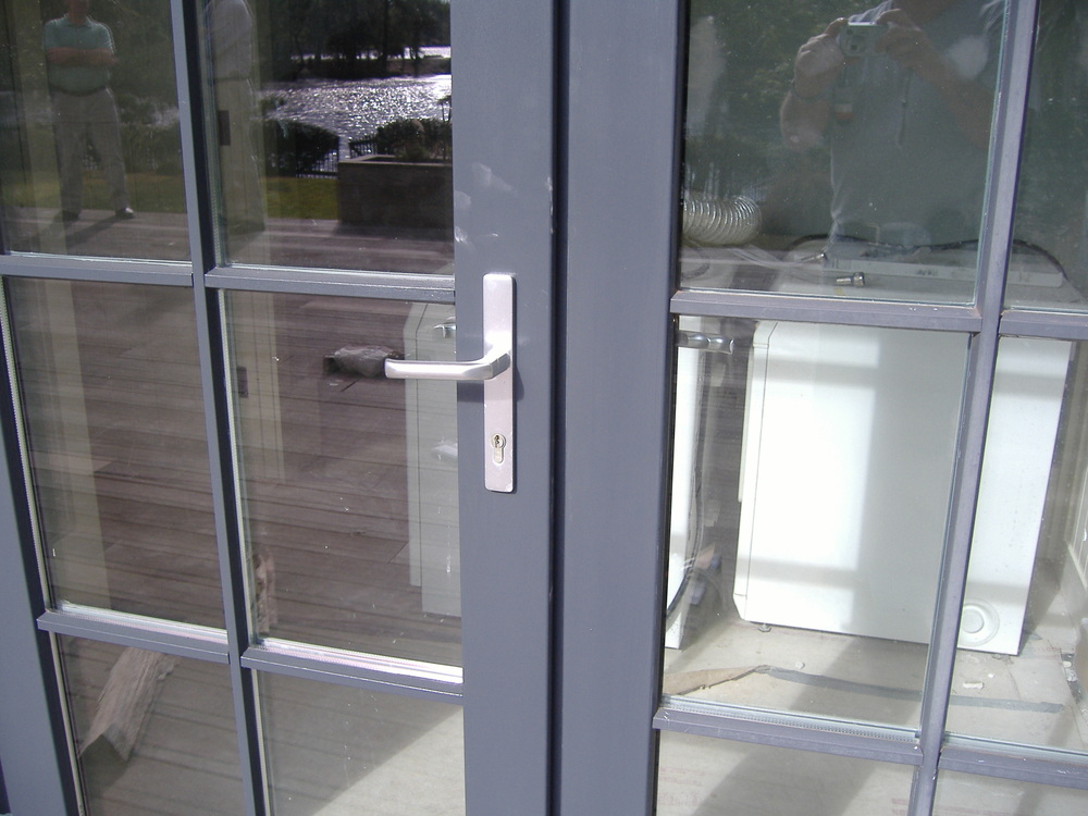 Custom Finished Maintenance Free UPVC Door