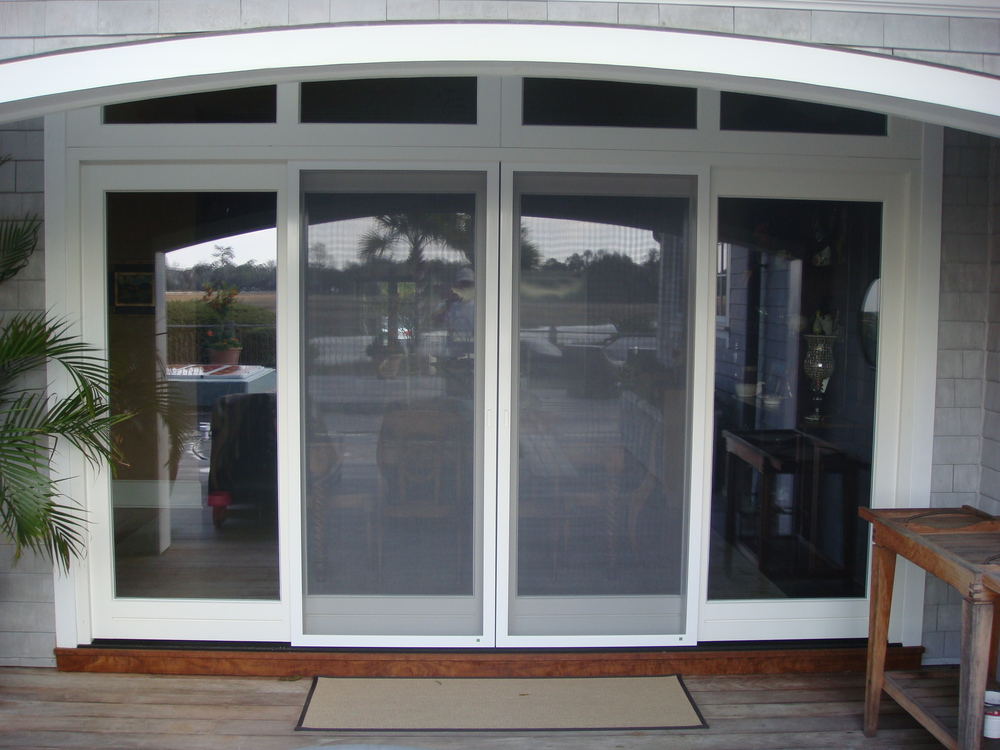 French Lift and Slide Doors with Matching Sliding Insect Screen Doors