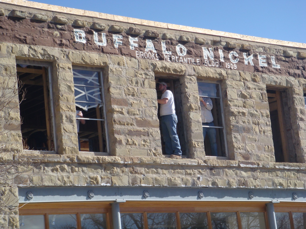 Installation at the Buffalo Nickel