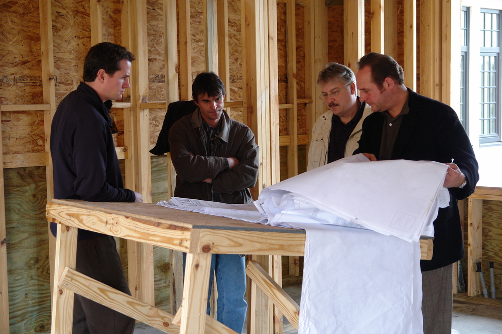 Engineering, Sales, Manufacturing, and Installation representatives at a job site in South Carolina  to discuss technical details