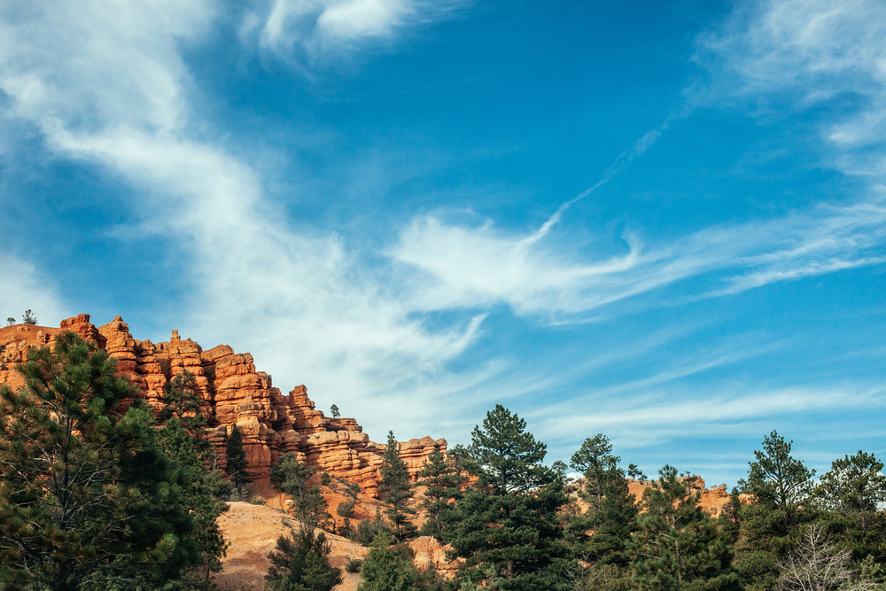 A caminho do Bryce Canyon National Park