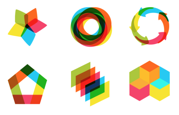 Overlapping Shapes Design Of the overlapping shapes Overlapping Shapes