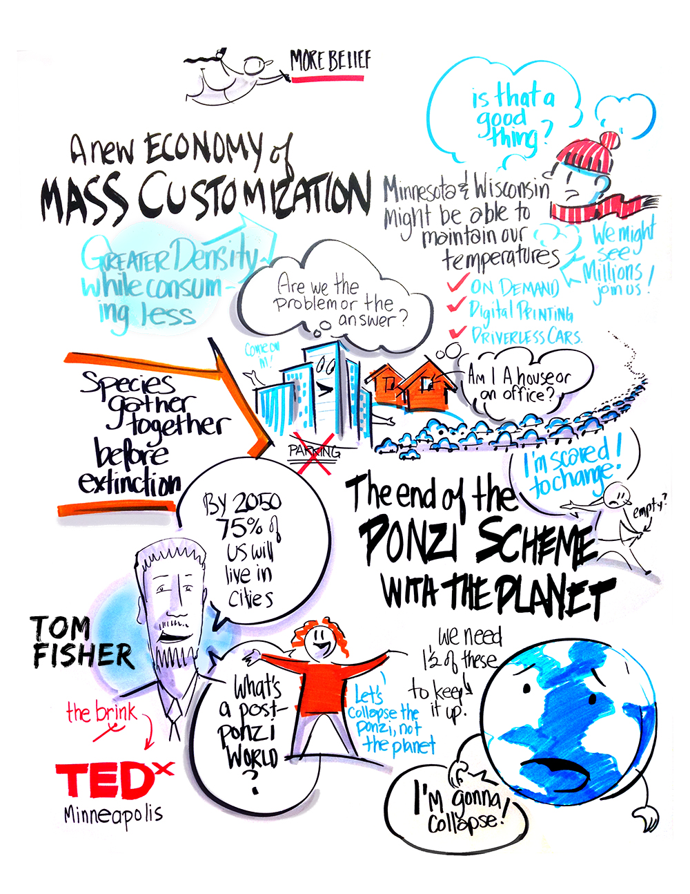 Copy of LIVE DRAWING TEDX CONFERENCE 2016 | MORE BELIEF