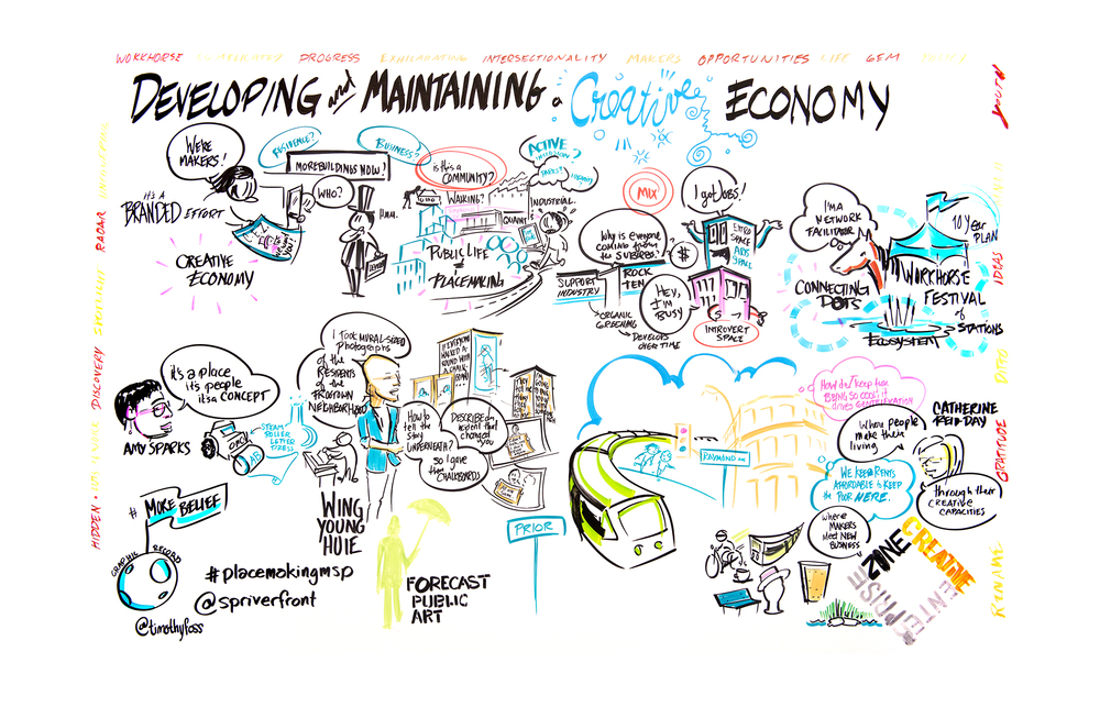 Copy of Graphic Recording in Minnesota | More Belief
