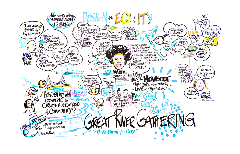 Copy of Graphic Facilitation and Visual Recording in Minneapolis Minnesota | MORE BELIEF