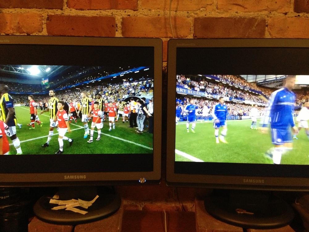 Thanks FoxSoccer2Go (Left) and NBCSports (right)