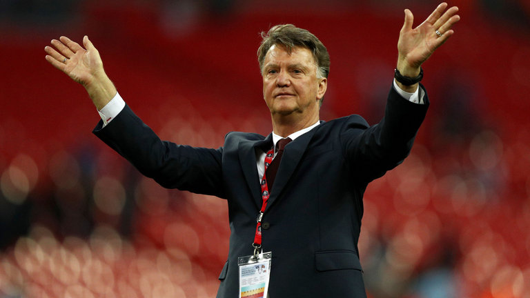 Van Gaal's best bit of business was selling his tanning service to Donald Trump.