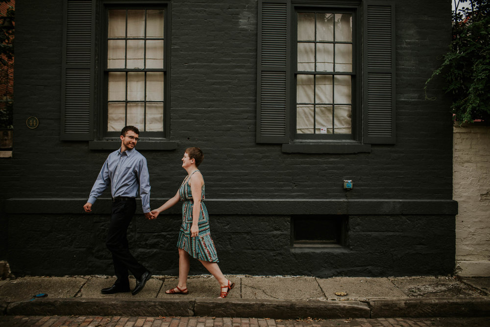 German village Columbus Ohio engagement session grace e jones photography