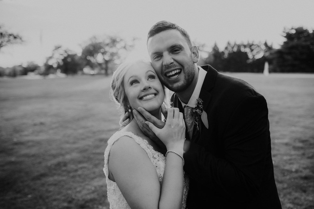 Wooster inn wedding reception Ohio wedding photographer grace e jones