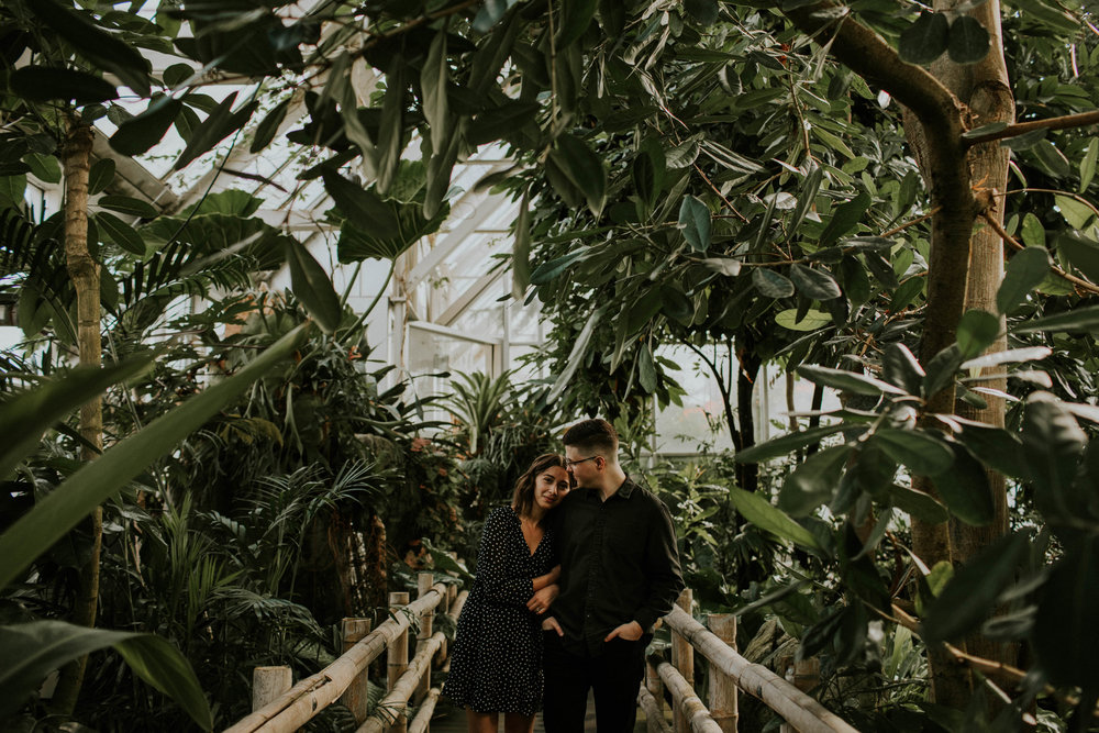 Columbus ohio wedding engagement photographer franklin park conservatory grace e jones photography