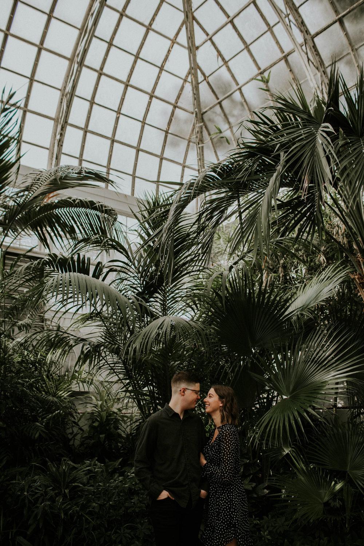 Columbus ohio wedding engagement photographer franklin park conservatory grace e jones photography
