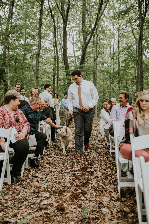Intimate woodsy wedding ohio wedding photographer grace e jones photography39.jpg