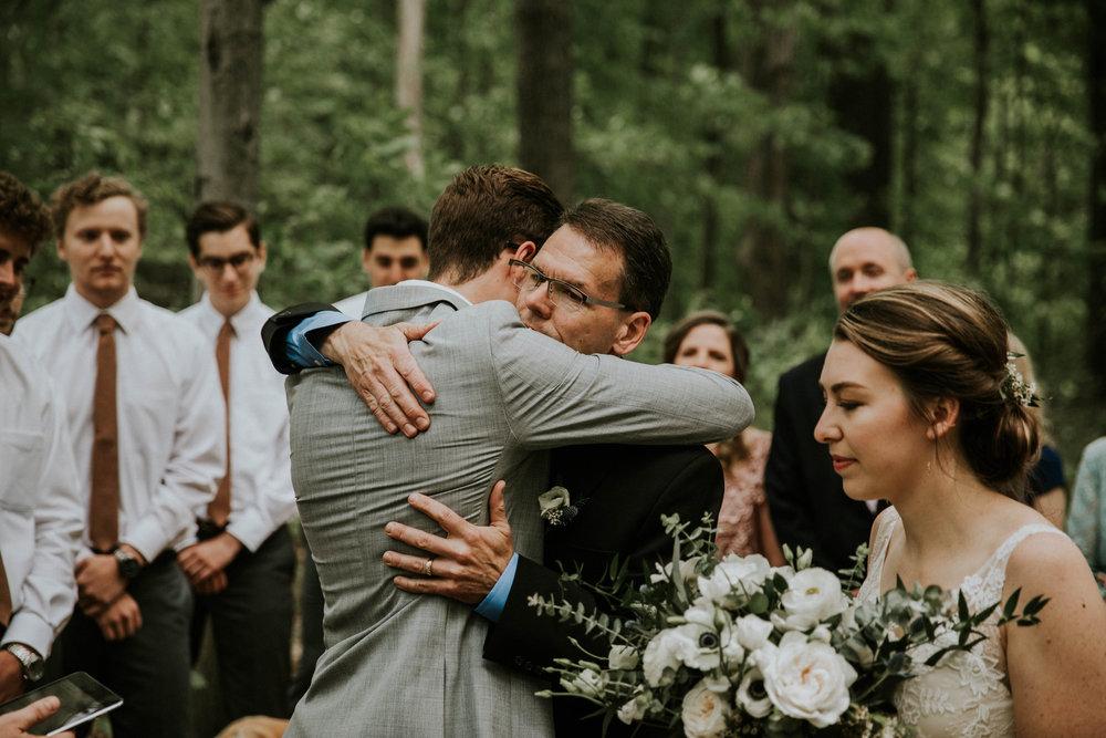 Intimate woodsy wedding ohio wedding photographer grace e jones photography46.jpg