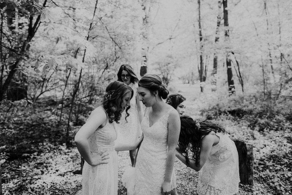Intimate woodsy wedding ohio wedding photographer grace e jones photography34.jpg