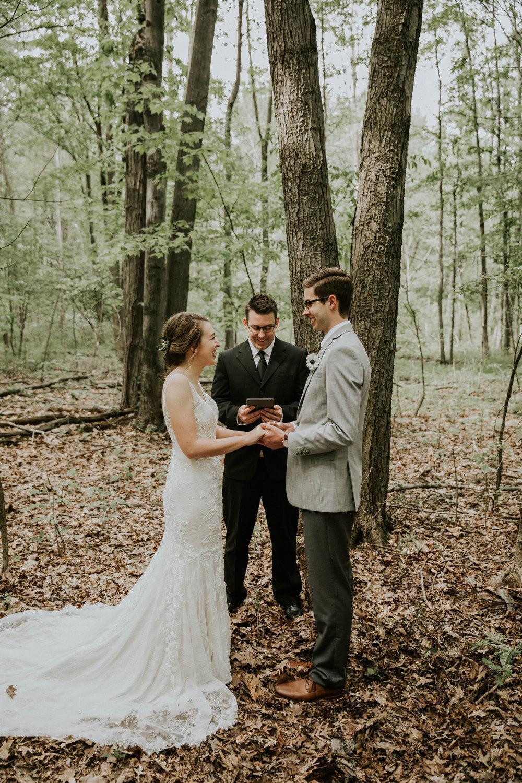 Intimate woodsy wedding ohio wedding photographer grace e jones photography56.jpg