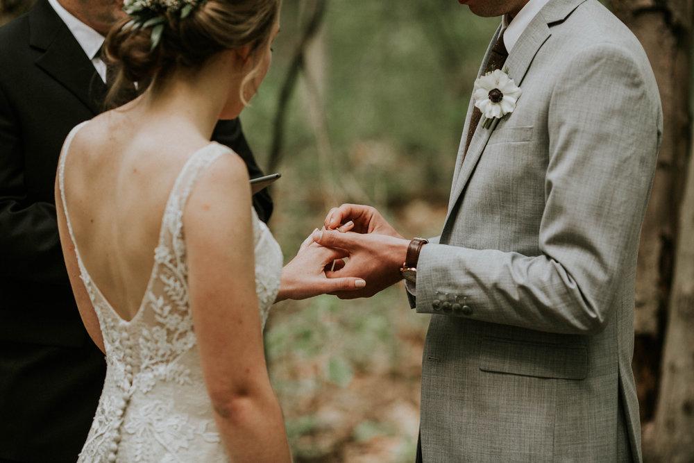 Intimate woodsy wedding ohio wedding photographer grace e jones photography29.jpg