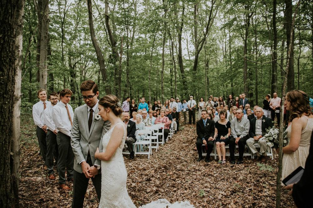Intimate woodsy wedding ohio wedding photographer grace e jones photography64.jpg