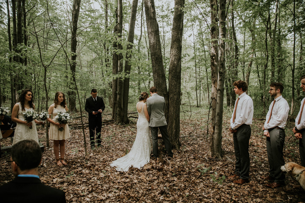 Intimate woodsy wedding ohio wedding photographer grace e jones photography67.jpg