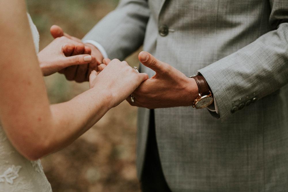 Intimate woodsy wedding ohio wedding photographer grace e jones photography31.jpg
