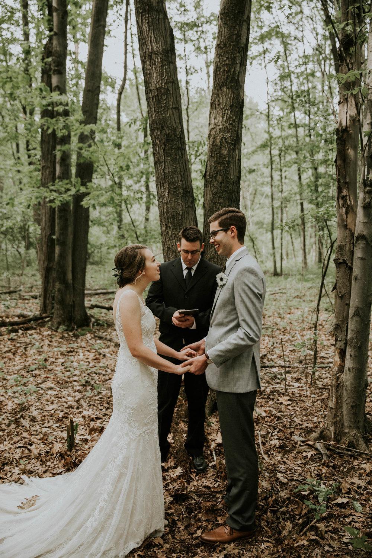 Intimate woodsy wedding ohio wedding photographer grace e jones photography68.jpg