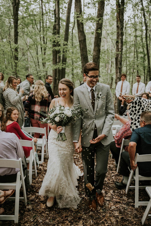 Intimate woodsy wedding ohio wedding photographer grace e jones photography80.jpg