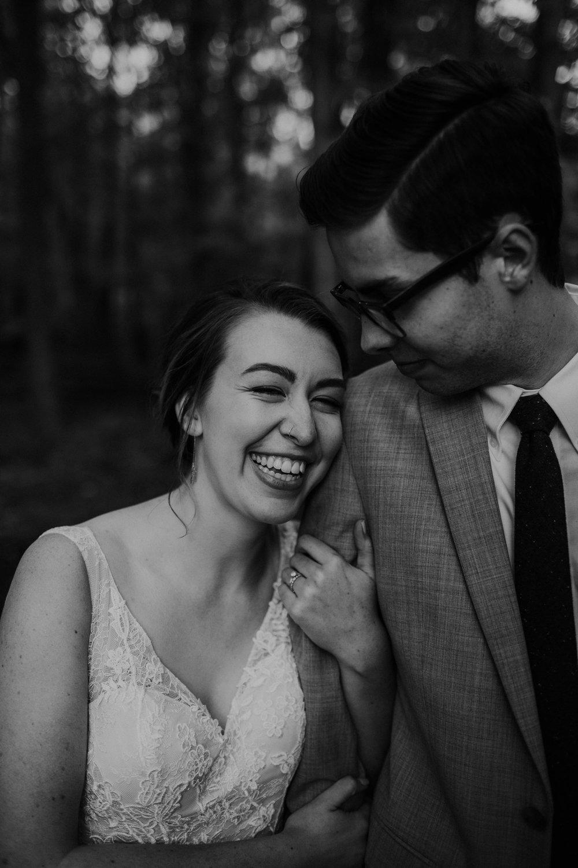 Intimate woodsy wedding ohio wedding photographer grace e jones photography109.jpg