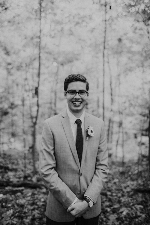 Intimate woodsy wedding ohio wedding photographer grace e jones photography83.jpg