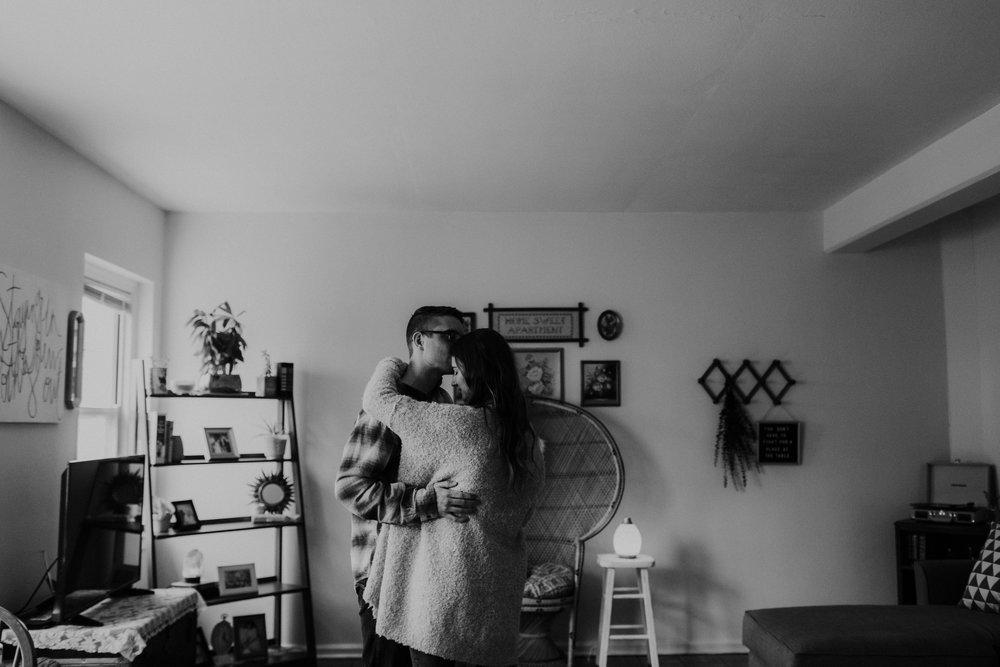 clintonville columbus ohio in home photo session grace e jones photography columbus photographer
