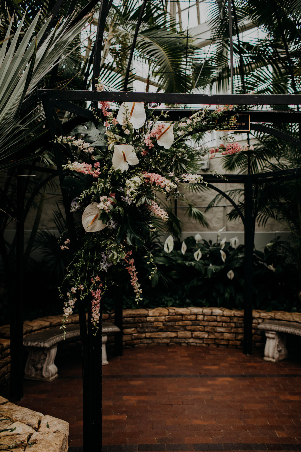 franklin park conservatory wedding columbus ohio wedding photographer grace e jones photography26.jpg