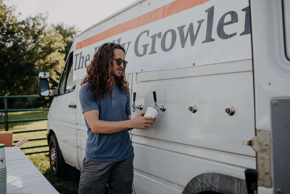 daily growler columbus ohio wedding beer truck