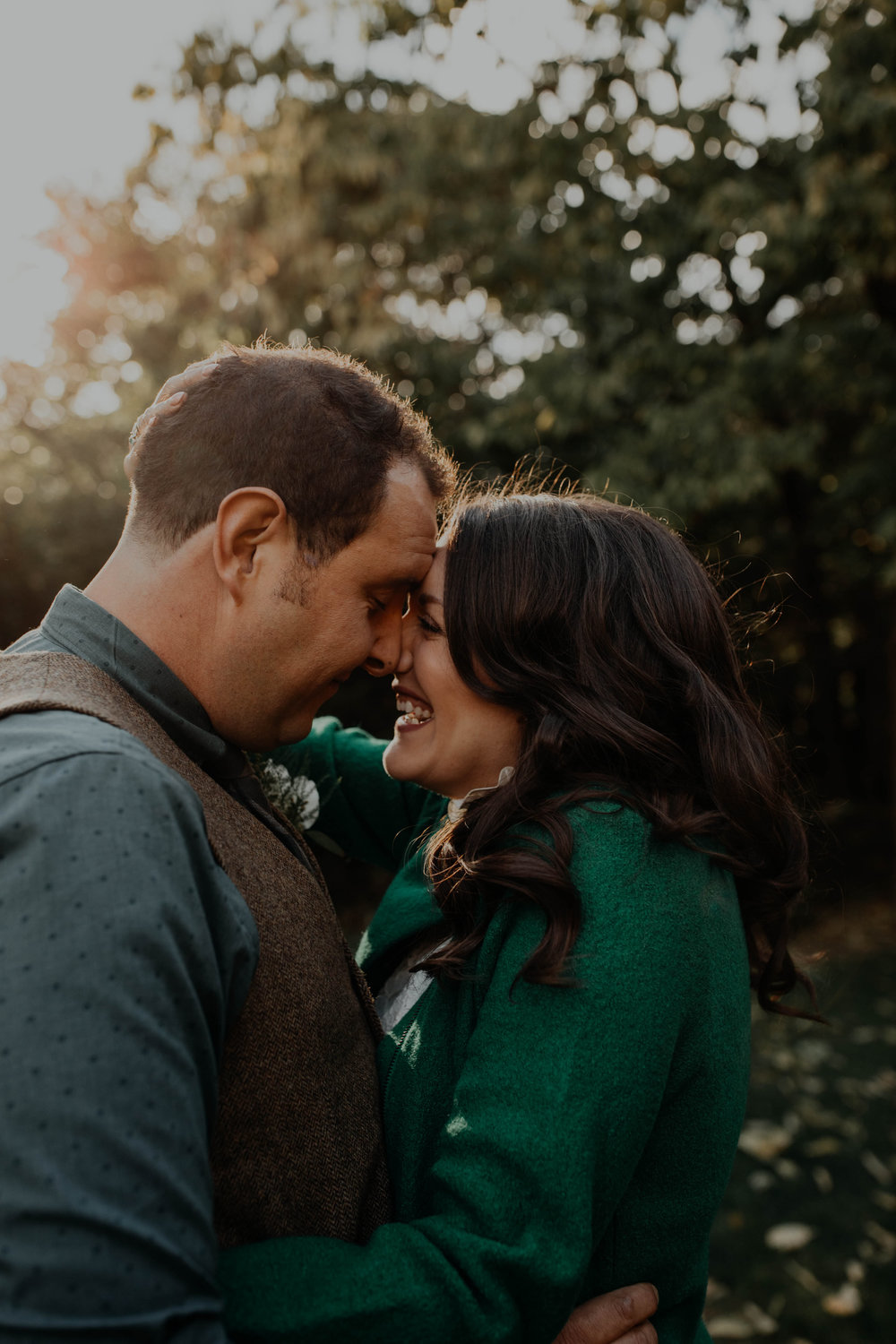 """- """"Grace is seriously THE BEST! We could not have asked for a better photographer for our wedding. She and Brandon are both so kind, professional, and personable. My husband and I felt so at ease (even though we are both naturally shy when it comes to being photographed). We are so grateful for our wedding photos and we loved our experience with Grace!""""ASHLEY + JON"""