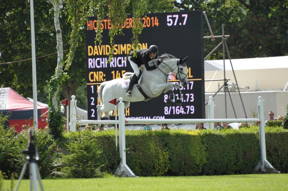 Richi Rich III Hickstead Derby 2014
