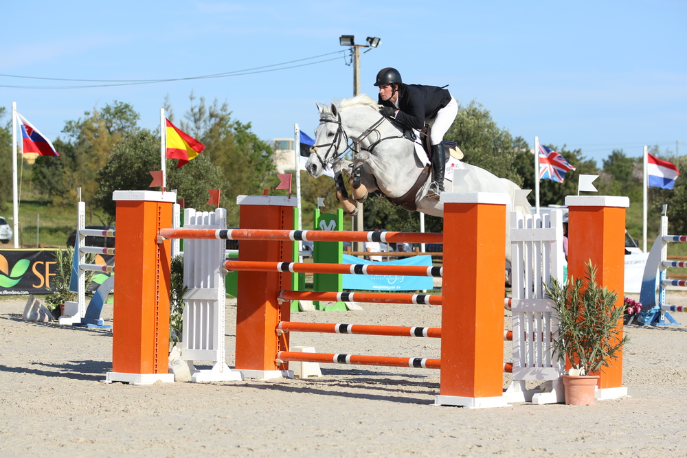 David and Chamberlain Z in the 1.45m Ranking Class