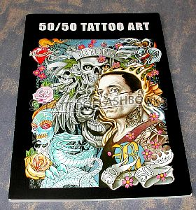 50/50 Tattoo Art Project