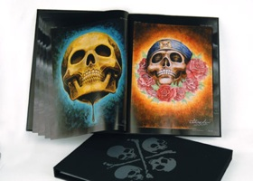 Skull Project - limited edition hardcover.