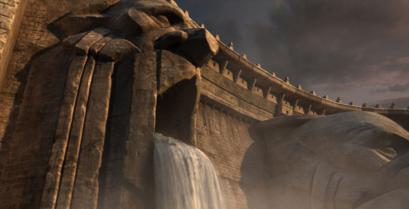 PROJECT :  World of Warcraft :   Cataclysm   Released : 2010  ROLE :  Lead Cinematic Artist   Contributed   Modeling - Texturing - Layout   Modeled & textured Dam set piece. Generated shot layout.