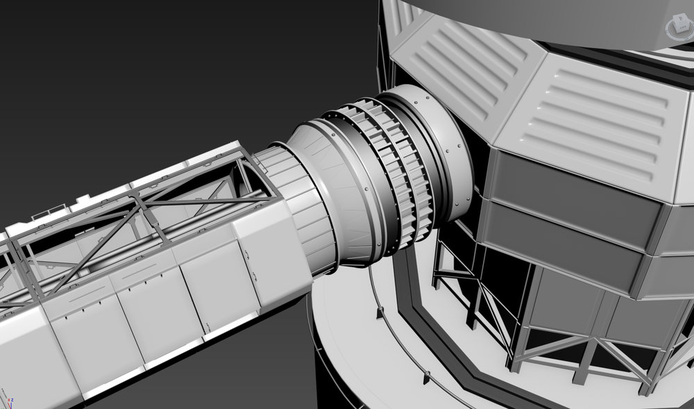 Polaris Station - Concept Model