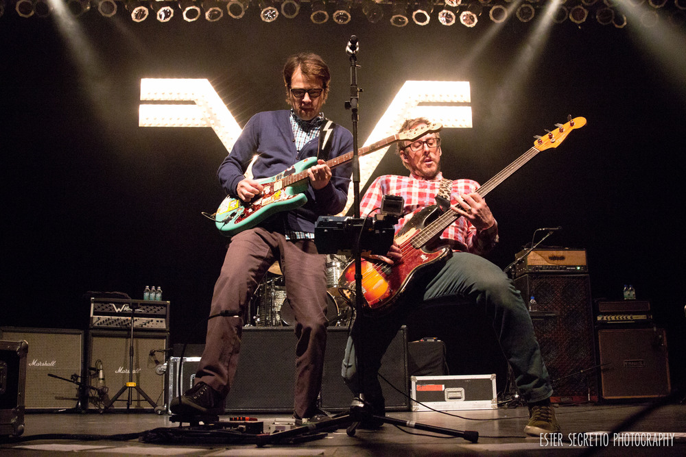 Weezer played The Paramount in Huntington, NY in November and served up a perfect combo of old and new songs.