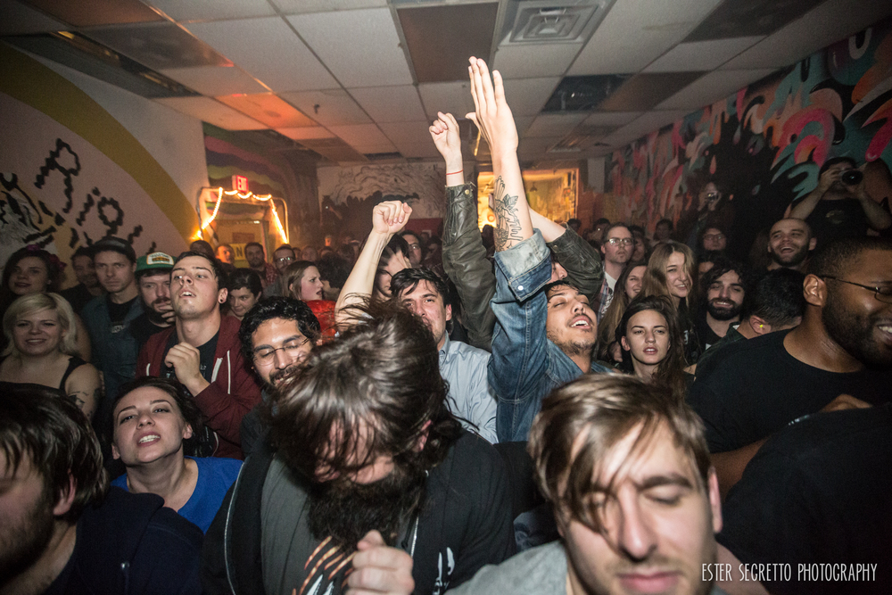 APTBS crowd at Death By Audio, Ester Segretto Photography 2014