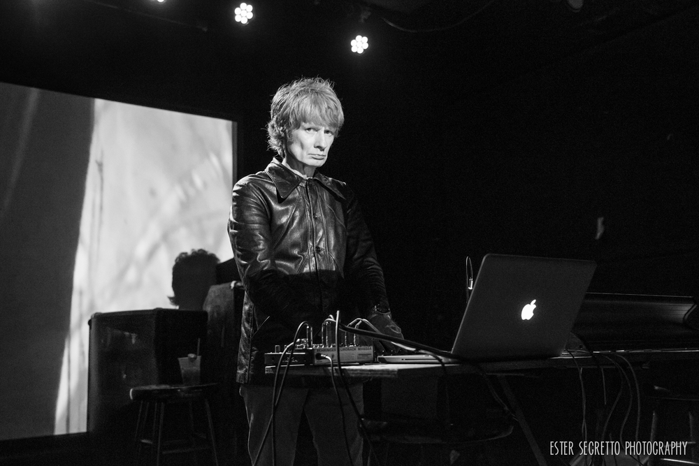 JG Thirlwell & Sarah Lipstate, St Vitus Bar- Oct 4, 2014