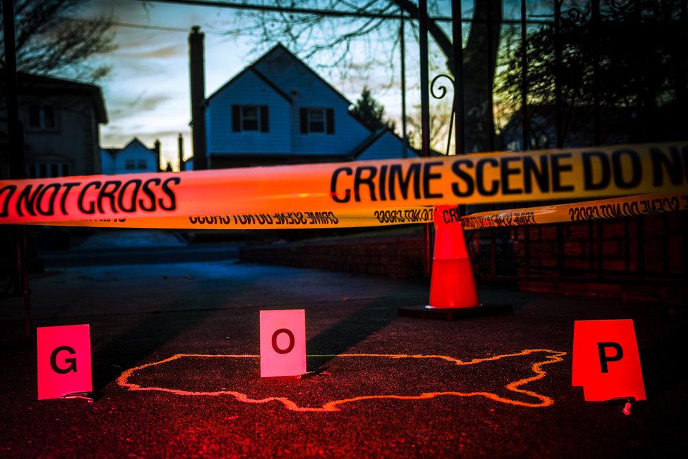 """""""American Crime Scene""""  Ester Segretto, 2018"""
