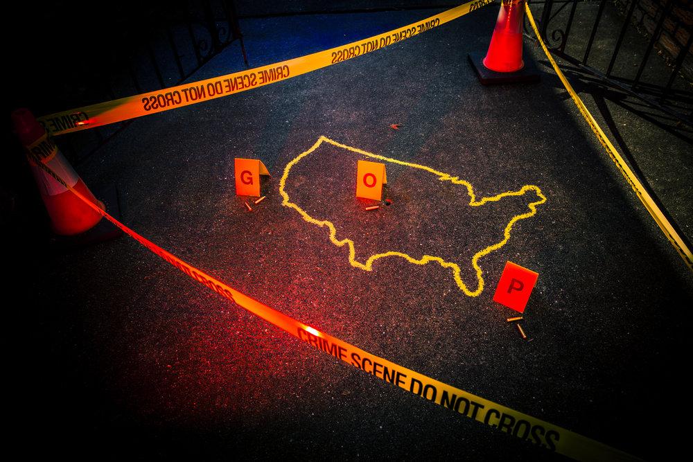 """""""American Crime Scene Pt.II""""  Ester Segretto, 2018"""