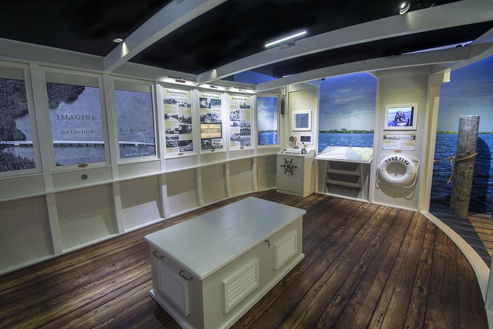 Captiva Island Historical Society Boat Room    Captiva Island, Florida