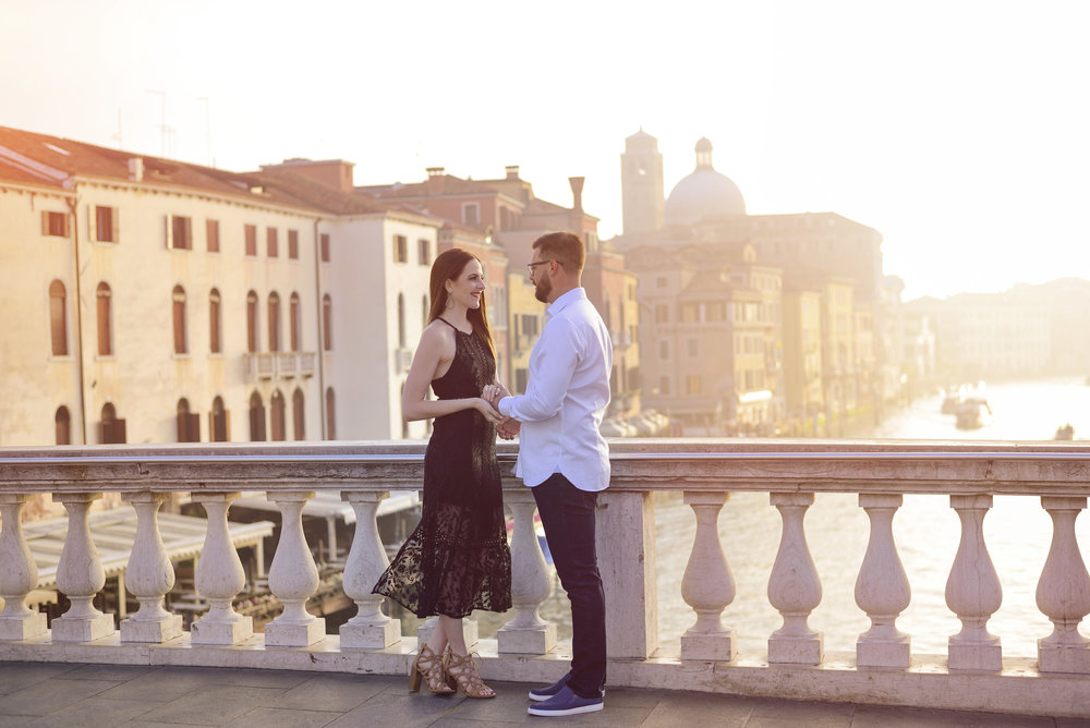 KARINA AND AARON IN VENICE -