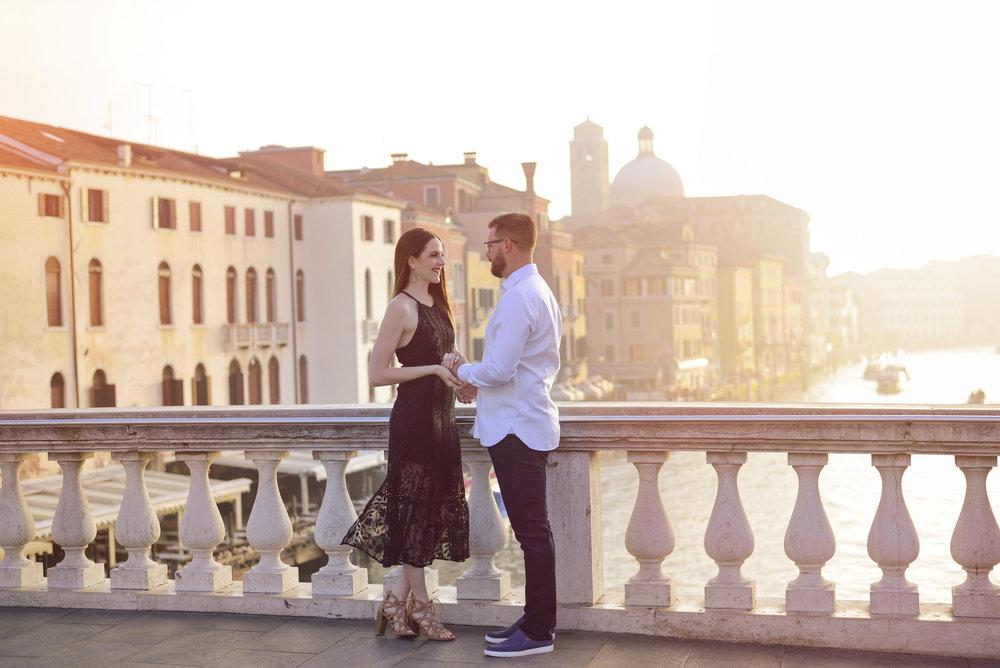 KARINA AND AARON IN VENICE -