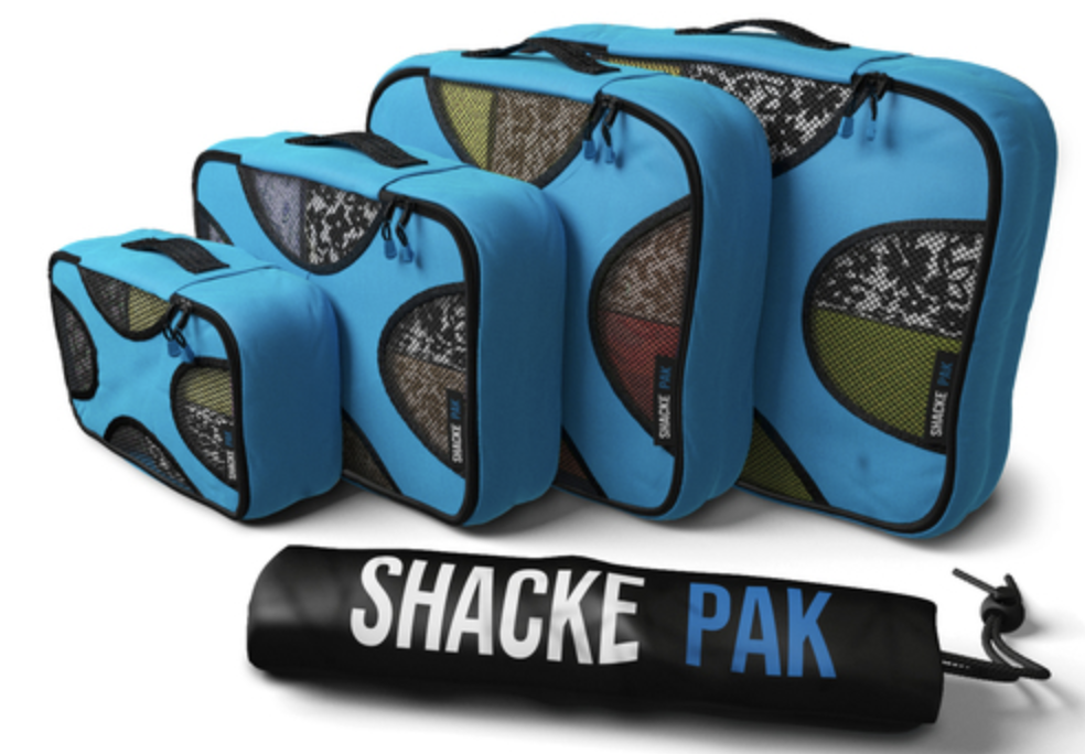 Shacke Pak 4 Set Packing Cubes